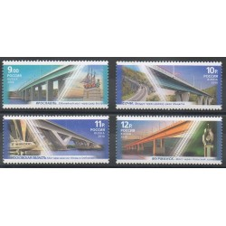 Russie - 2010- No 7191/7194 - Ponts