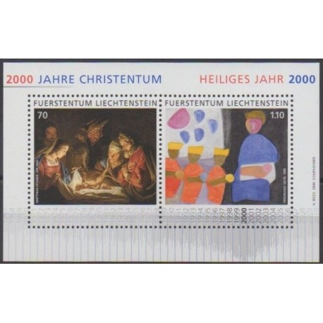 Lienchtentein - 2000 - Nb BF19 - Christmas