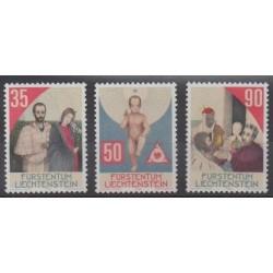 Lienchtentein - 1988 - Nb 895/897 - Christmas