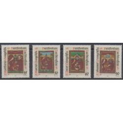 Lienchtentein - 1987 - Nb 871/874 - Christmas
