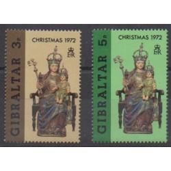 Gibraltar - 1972 - Nb 288/289 - Christmas