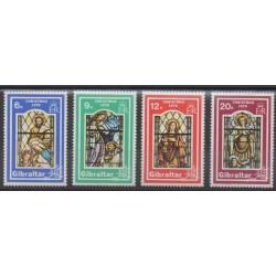 Gibraltar - 1976 - Nb 342/345 - Christmas