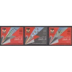 Bahrain - 2014 - Nb 888/890 - Planes