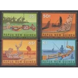 Papua New Guinea - 1997 - Nb 771/774 - Boats