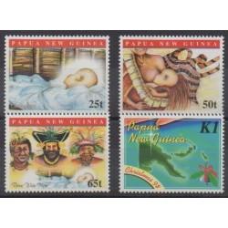 Papua New Guinea - 1998 - Nb 813/816 - Christmas