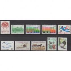United Nations (UN - Geneva) - 1985 - Nb 127/136