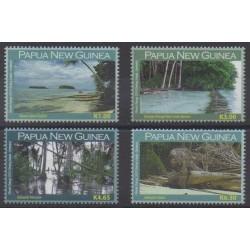 Papua New Guinea - 2010 - Nb 1347/1350 - Sights - Environment