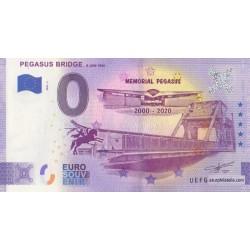 Euro banknote memory - 14 - Pegasus Bridge - 2020-2 - Anniversary