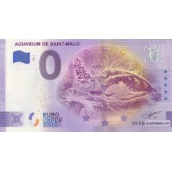 Euro banknote memory - 35 - Aquarium de Saint-Malo - 2020-3 - Anniversary