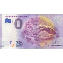 Euro banknote memory - 35 - Aquarium de Saint-Malo - 2020-3