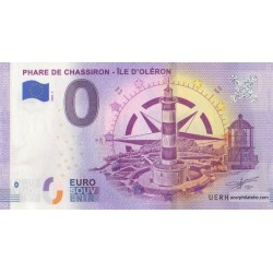 Euro banknote memory - 17 - Phare de Chassiron - 2020-2