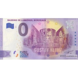 Euro banknote memory - 33 - Bassins de Lumieres - 2020-1 - Anniversary