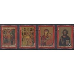 Macédoine - 1999 - No 154/157 - Peinture