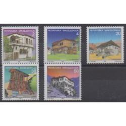 Macedonia - 1998 - Nb 117/121 - Architecture