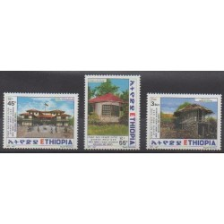 Éthiopie - 1997 - No 1446/1448 - Architecture