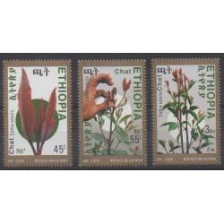 Éthiopie - 2008 - No 1668/1670 - Fleurs