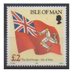Man (Isle of) - 1994 - Nb 605 - Flags