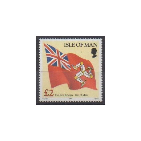 Man (Isle of) - 1994 - Nb 605 - Flags