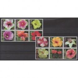 Norfolk - 2005 - Nb 861/872 - Flowers