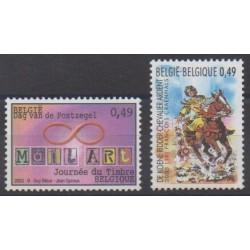 Belgium - 2003 - Nb 3165/3166 - Philately