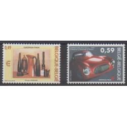 Belgium - 2003 - Nb 3194/3195 - Cars