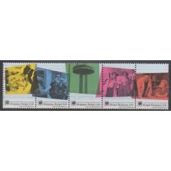 Belgique - 2003 - No 3202/3206 - Télécommunications