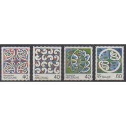 Nouvelle-Zélande - 1988 - No 980/983 - Art