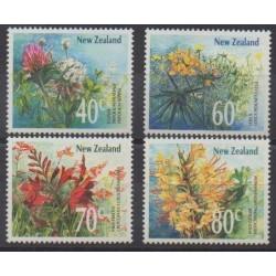 Nouvelle-Zélande - 1989 - No 1019/1022 - Fleurs