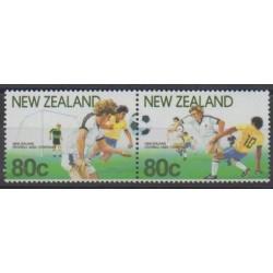 New Zealand - 1991 - Nb 1102/1103 - Football