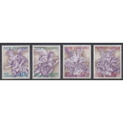 Nouvelle-Zélande - 1990 - No 1084/1087 - Noël