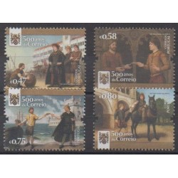Portugal - 2016 - Nb 4170/4173 - Postal Service