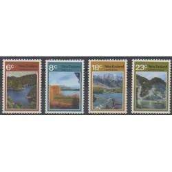 Nouvelle-Zélande - 1972 - No 576/579 - Sites