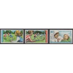 Nouvelle-Zélande - 1971 - No 542/544 - Santé ou Croix-Rouge