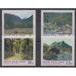 Nouvelle-Zélande - 1975 - No 635/638 - Sites