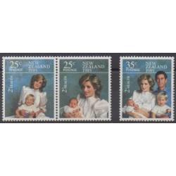 Nouvelle-Zélande - 1985 - No 903/905 - Royauté - Principauté