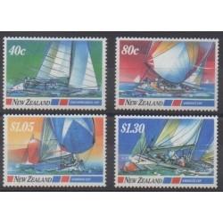Nouvelle-Zélande - 1987 - No 950/953 - Navigation