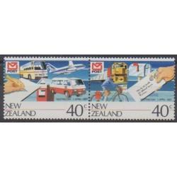 Nouvelle-Zélande - 1987 - No 954/955 - Service postal