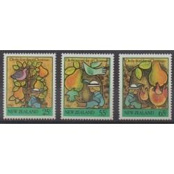 Nouvelle-Zélande - 1986 - No 935/937 - Noël