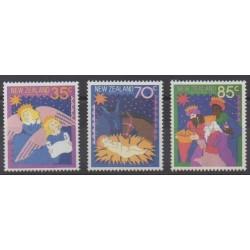 Nouvelle-Zélande - 1987 - No 967/969 - Noël