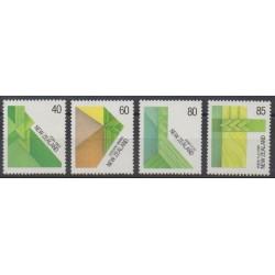 Nouvelle-Zélande - 1987 - No 970/973 - Art