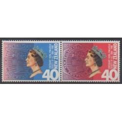 Nouvelle-Zélande - 1988 - No 978/979 - Philatélie