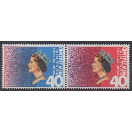 New Zealand - 1988 - Nb 978/979 - Philately