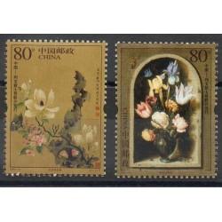 Chine - 2005- No 4260/4261 - Fleurs