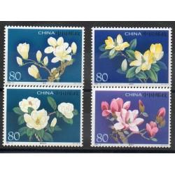 Chine - 2005- No 4249/4252 - Fleurs