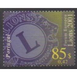 Portugal - 2001 - Nb 2512 - Rotary or Lions club