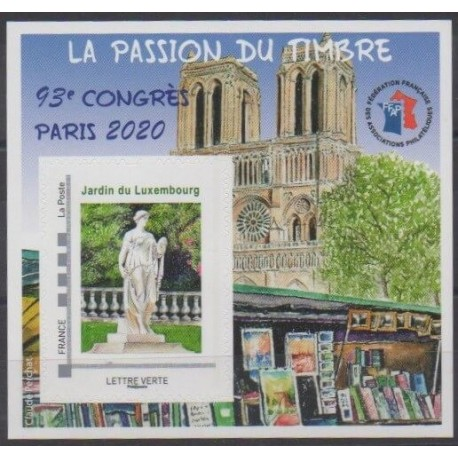 France - FFAP Sheets - 2020 - Nb FFAP 17 - Parks and gardens