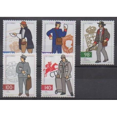 Portugal - 1996 - Nb 2133/2137 - Postal Service