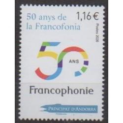French Andorra - 2020 - Francophonie