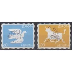 Swiss - 1995 - Nb 1480/1481 - Europa