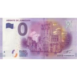 Euro banknote memory - 76 - Abbaye de Jumieges - 2016-1